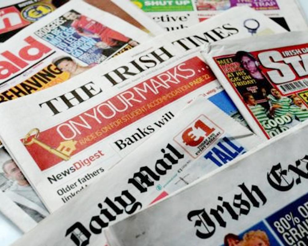 Selection of Irish Newspapers