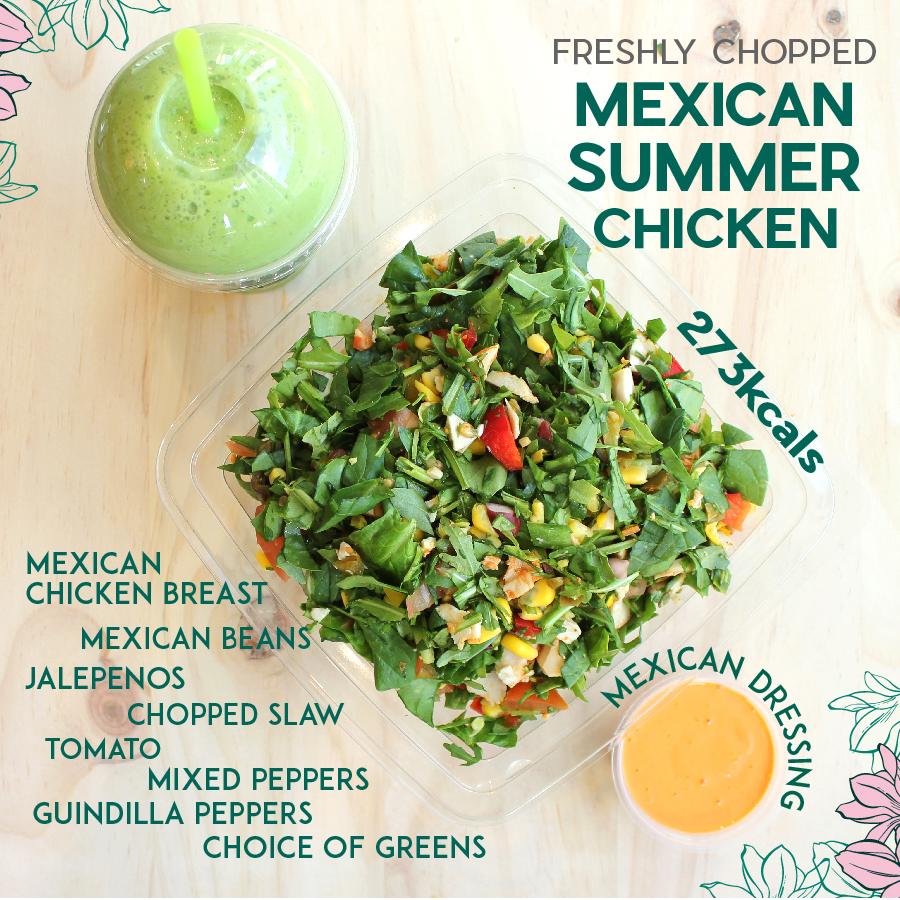 Mexican Summer Chicken Salad